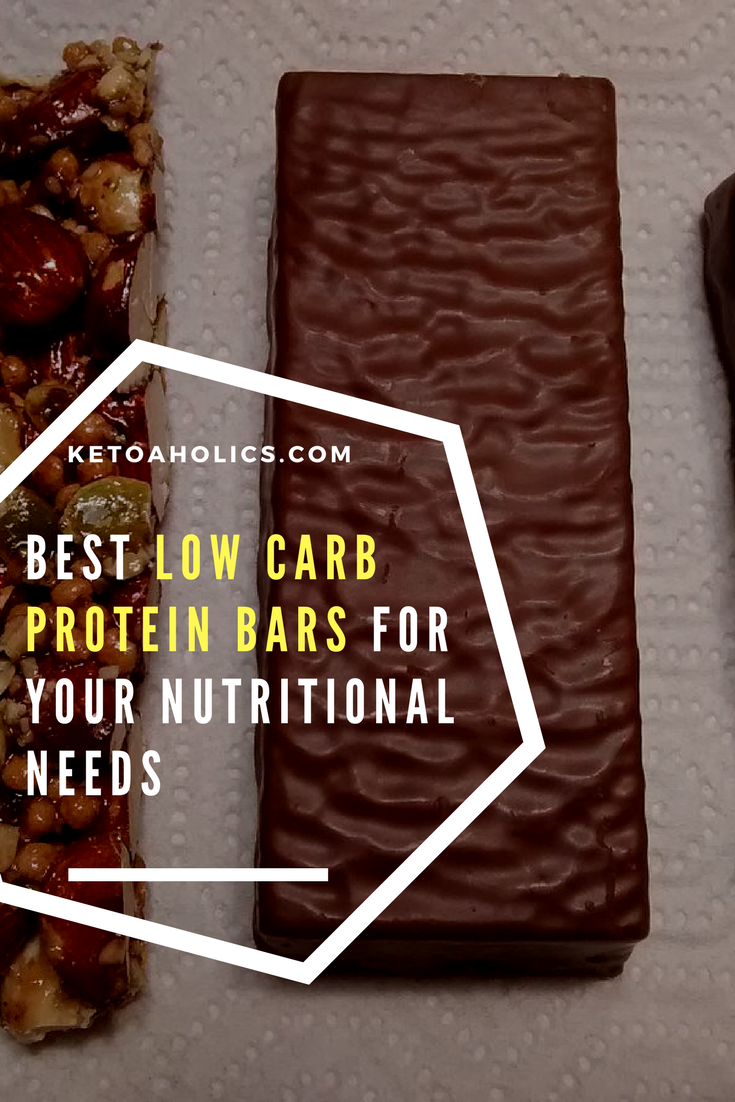 Best Low Carb Protein Bars For Your Nutritional Needs Ketoaholics