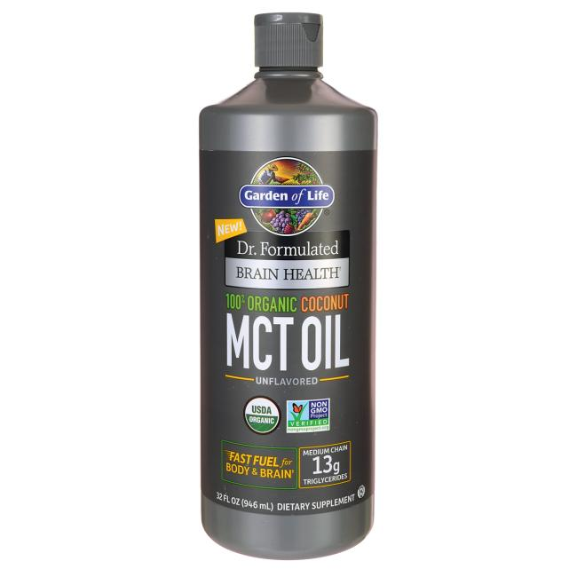 image of Garden of Life MCT oil review | KetoaHolics.com