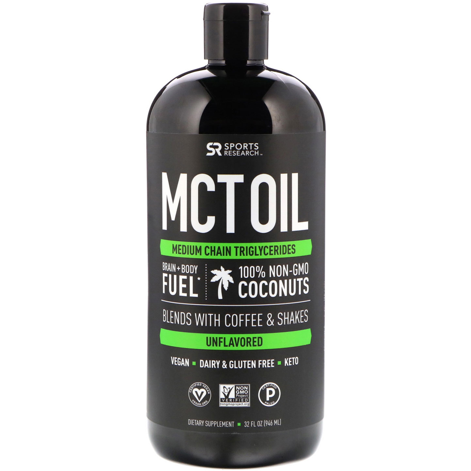 Sport Research MCT oil KetoaHolics