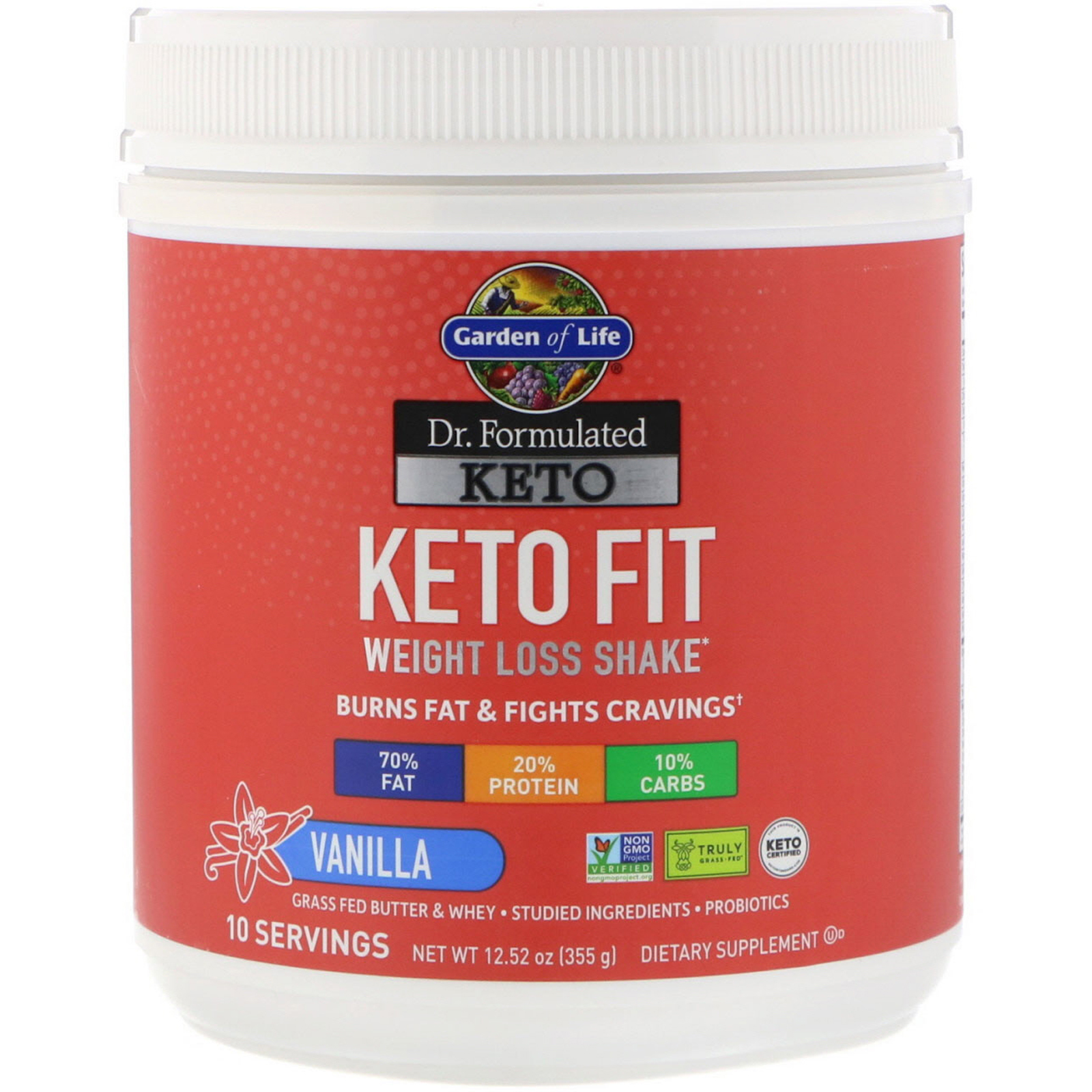 Keto Fit - Garden of Life - KetoaHolics