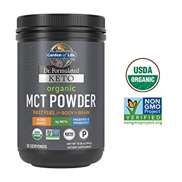 MCT Powder: Garden of Life Organic MCT Powder
